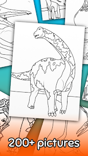 Dino Coloring Game 3