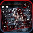 Spooky Skeleton Love Keyboard Theme
