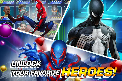 MARVEL Puzzle Quest: Join the Super Hero Battle! screenshots 1