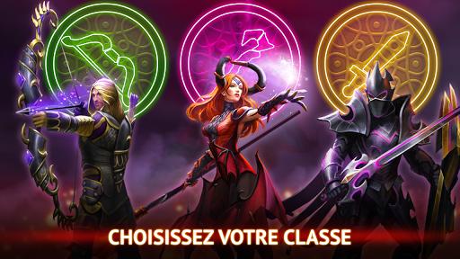 Code Triche Guild of Heroes - fantasy RPG apk mod screenshots 2