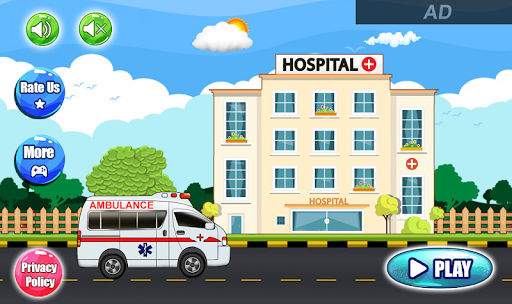 Pretend Hospital Doctor Care Games: My Town Life  screenshots 4