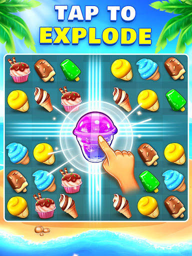 Ice Cream Paradise - Match 3 Puzzle Adventure filehippodl screenshot 18