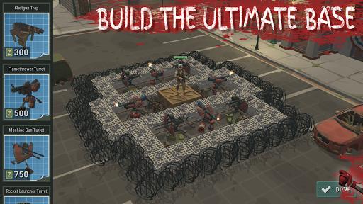 Overrun: Zombie Horde Apocalypse Survival TD Game apkpoly screenshots 17