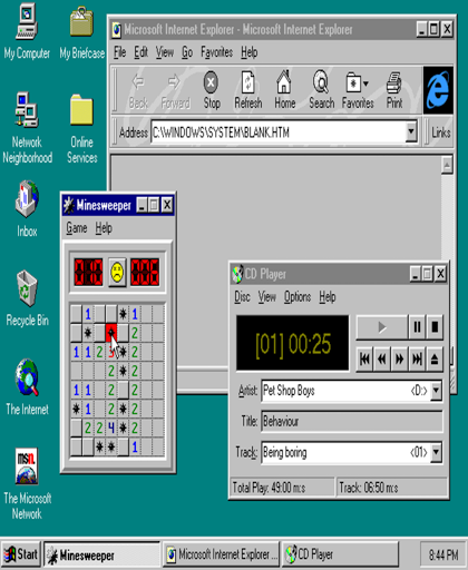 Win 93 Simulator (With VGBA EMULATOR)