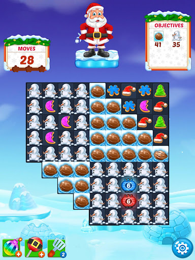Christmas Cookie - Santa Claus's Match 3 Adventure 3.1.6 screenshots 21