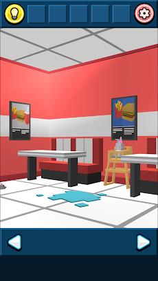 無料脱出ゲーム:ハンバーガーショップからの脱出!あそびごころのある簡単な脱出ゲームのおすすめ画像2