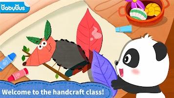 Baby Panda's creative collage design