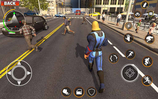 Gangster Target Superhero Games 1.1.9 screenshots 14