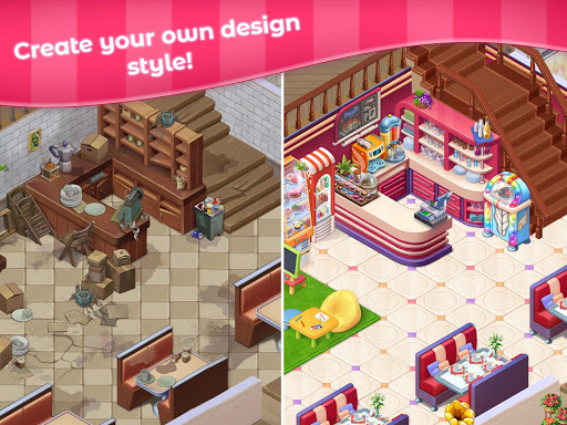 Grand Cafe Storyuff0dNew Puzzle Match-3 Game 2021 2.0.26.1 screenshots 10