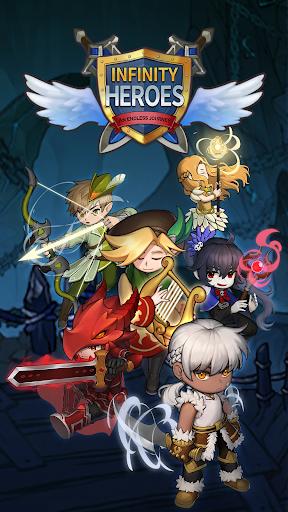 Télécharger Infinity Heroes : Idle RPG apk mod screenshots 1