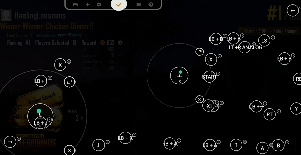 Panda Gamepad Pro (BETA) For Android 2