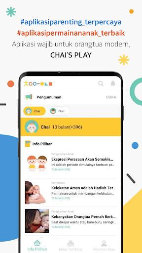 Chai's Play - Aplikasi parenting & permainan anak apktram screenshots 1