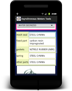 Asynchronous Motors Tools demo