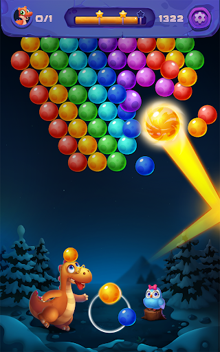Bubble Shooter: Primitive Dinosaurs - Egg Shoot 1.04 screenshots 3
