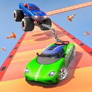 Superhero Double Impossible: Mega Ramp Car Stunts