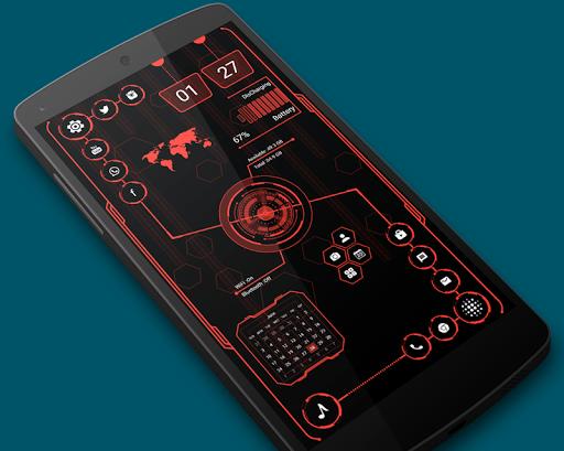 Visionary Launcher 2021 App lock, Hitech Wallpaper 27.0 Screenshots 14