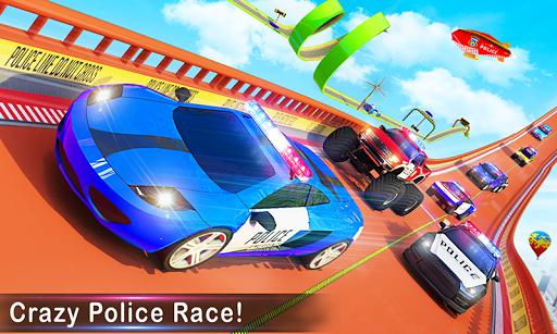 Police Car Stunts Racing: Ramp Car New Stunts Game 2.1.0 Screenshots 4