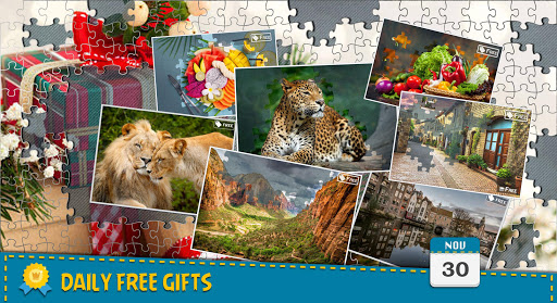 Jigsaw Puzzle Crown - Classic Jigsaw Puzzles  Screenshots 1