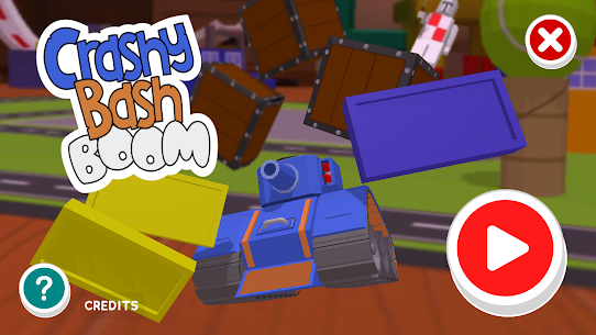 Crashy Bash Boom – Toy Tank Smash 'Em Up for Kids Hack Game Android & iOS 1
