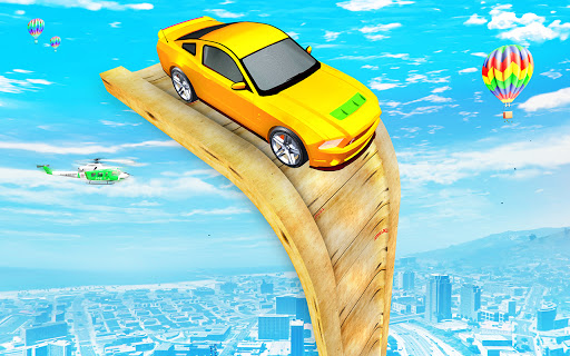 Download Crazy Ramp Car Stunt Racing 2021–Car Driving Games 1.0 screenshots 1