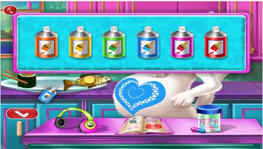kittie Pregnant check up - ema pregnancy cat games 1.0.0 screenshots 8