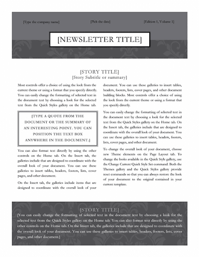 Free Email Newsletter Templates  screenshots 2