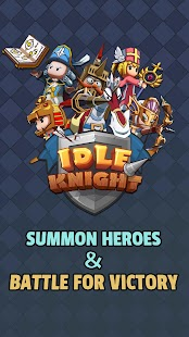 Idle Knight - Fearless Heroes Screenshot