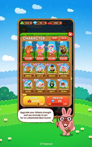 LINE Pokopang - POKOTA's puzzle swiping game! 7.1.1 screenshots 5