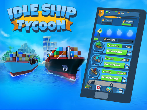 idle ship tycoon: port manager simulator screenshot 1
