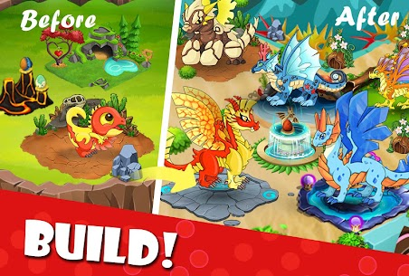 Dragon Battle Mod Apk (Unlimited Gold/Diamonds) 3