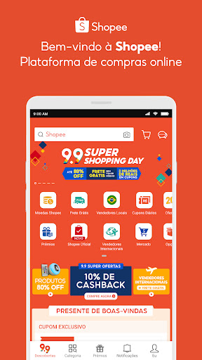 Shopee: Compre Online no 9.9 android2mod screenshots 1