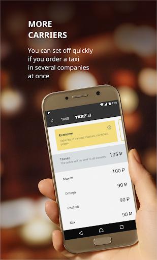Taxsee: taxi order  Screenshots 1