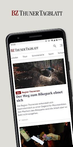 BZ Thuner Tagblatt - Nachrichten aus Thun 9.2 screenshots 1