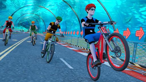 Underwater Stunt Bicycle Race Adventure screenshots 1