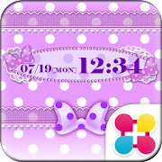 Purple polka dot Wallpaper