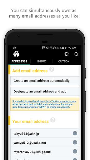 Download APK: InstAddr – Instant Email Address v2021.05.28.6 [Premium]