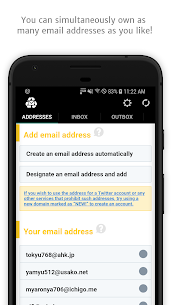 InstAddr Mod Apk- Instant Email Address (Full Unlocked) 1