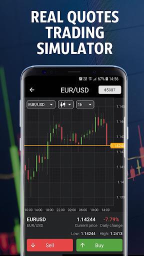 Forex Tutorials - Forex Trading Simulator  Screenshots 1