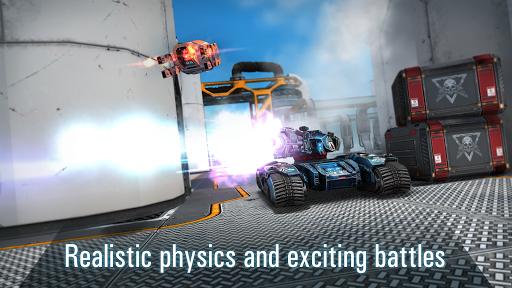 Robots VS Tanks: 5v5 Tactical Multiplayer Battles apktram screenshots 11