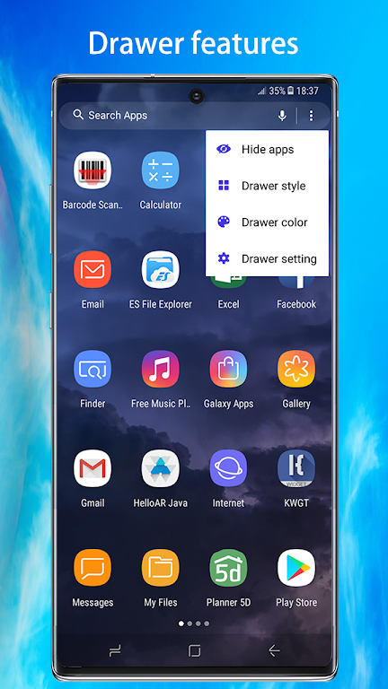 Note10 Launcher for Galaxy Note9/Note10 launcher  poster 2