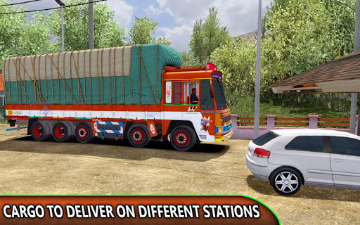Indian Truck Offroad Cargo Drive Simulator apklade screenshots 2