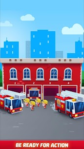 Idle Firefighter Tycoon APK , Fire Emergency Manager APK Download 11