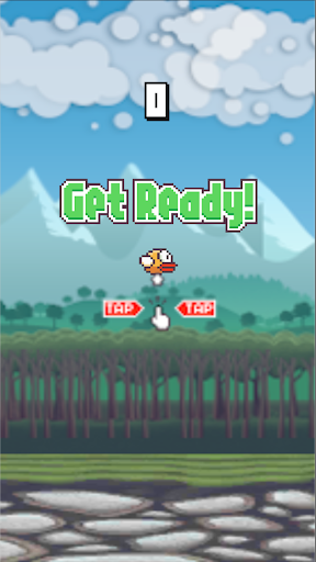 Flying Bird - Flapper Birdie Game apktreat screenshots 2