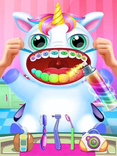 Little Unicorn Pet Doctor Dentist 6 screenshots 1
