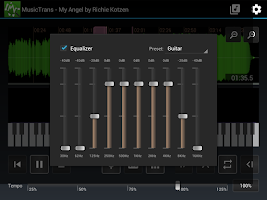 MusicTrans tool for musicians