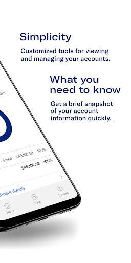 Equitable Mobile App screenshot 2