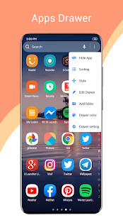One S20 Launcher - S20 Launcher one ui 2.0 style