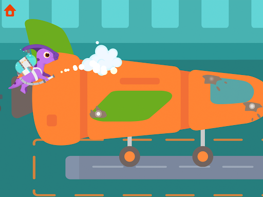 Dinosaur Airport - Flight simulator Games for kids  screenshots 19
