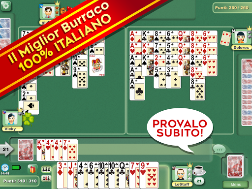 Burraco e Pinelle Online 3.81 Screenshots 6