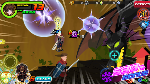 KINGDOM HEARTS Uu03c7 Dark Road  screenshots 8
